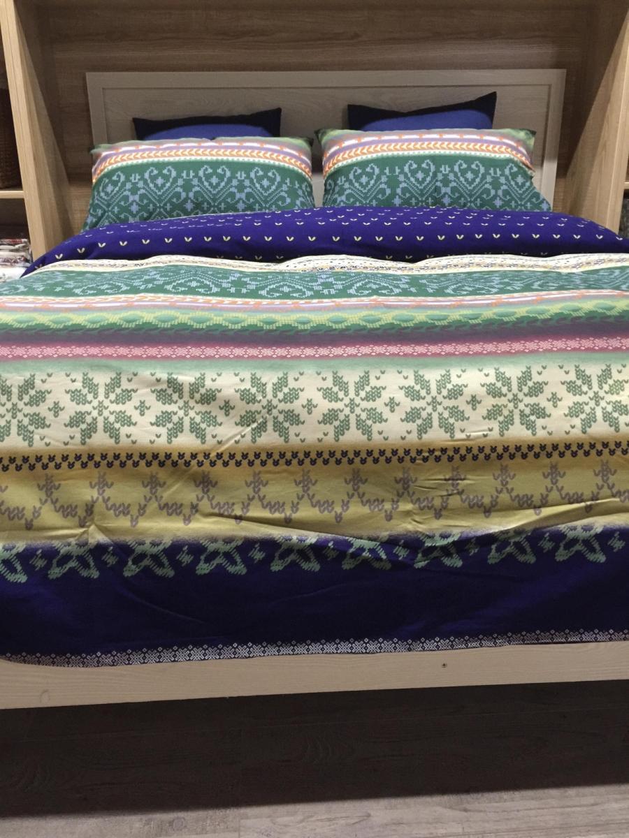 buy christmas deer print snowflake bedding set king size queen quilt doona. Black Bedroom Furniture Sets. Home Design Ideas