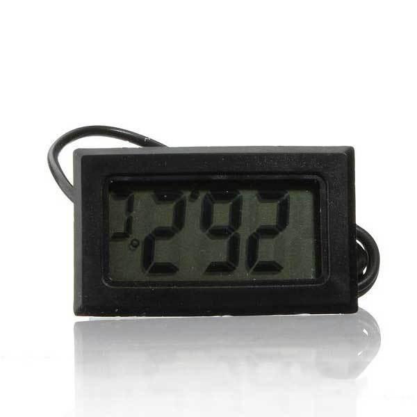 Balboawo Aquarium LCD Digital Thermometer Fish Tank Water Digital Thermometer(China (Mainland))