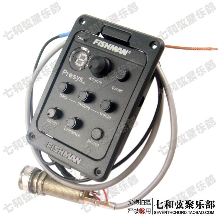 Fishman 201 wood guitar pickup/electric box violin EQ equalizer/electric box guitar pick up(China (Mainland))