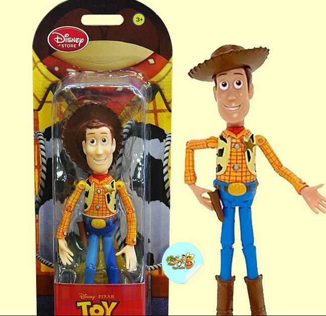 """7"""" Toy Story 3 Woody PVC Doll Moveable Poseable Ultimate Action Figure Toy(China (Mainland))"""