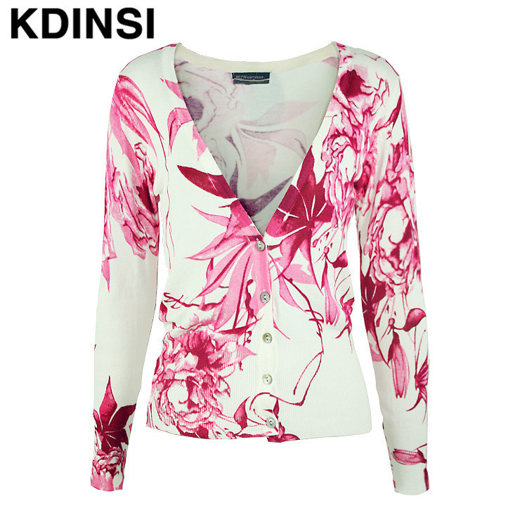 2015 womens cardigan sweater The new fashion trend leaves short paragraph long-sleeved knit cardigan jacket women(China (Mainland))