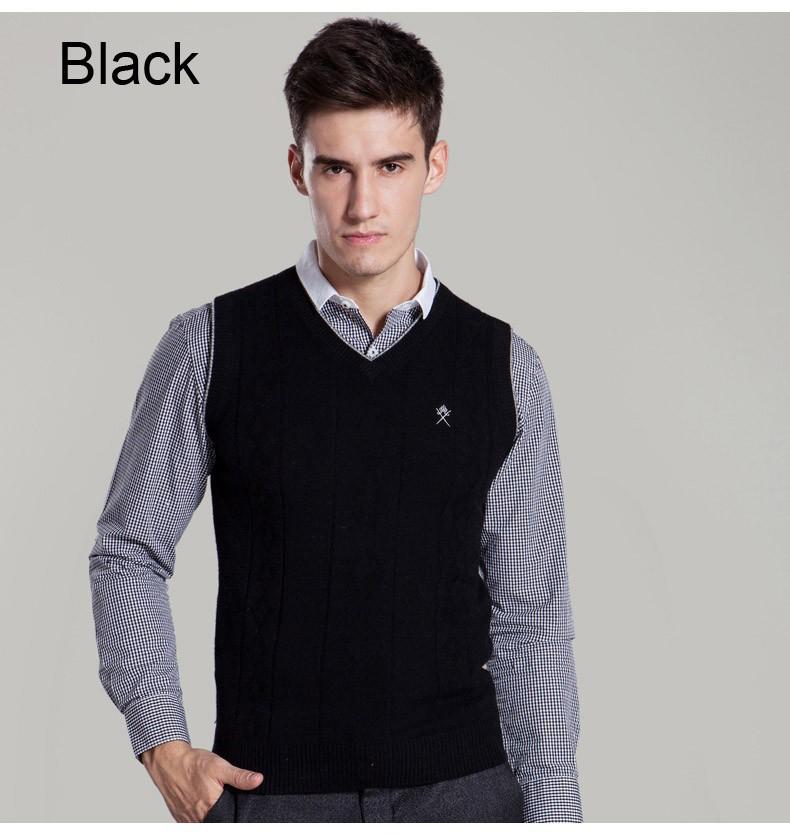 Здесь можно купить  New genuine cashmere sweater men wool pullover vest Australian wool vest pure cashmere vest for men free shipping  Одежда и аксессуары