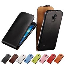 S4 мини-люкс флип кожаный чехол для Samsung Galaxy S4 Mini i9190 деловой стиль черный чехол коке Fundas корпус