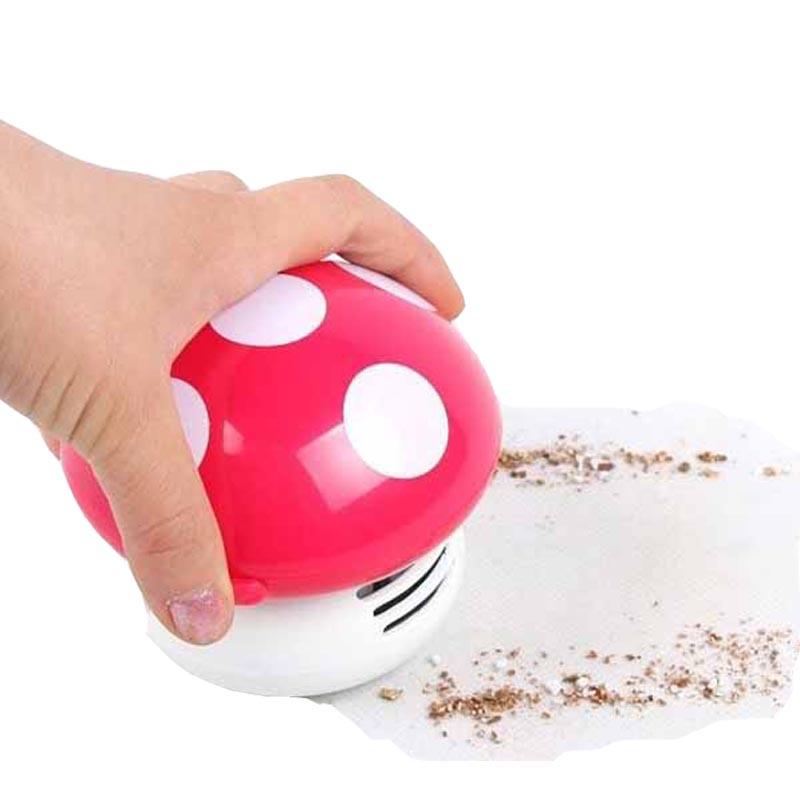 Mini vacuum cleaner Home Handheld Tabletop wireless hand Vacuum Cleaner brush Mushroom Vacuum Car Laptop keyboard Dust cleaner(China (Mainland))