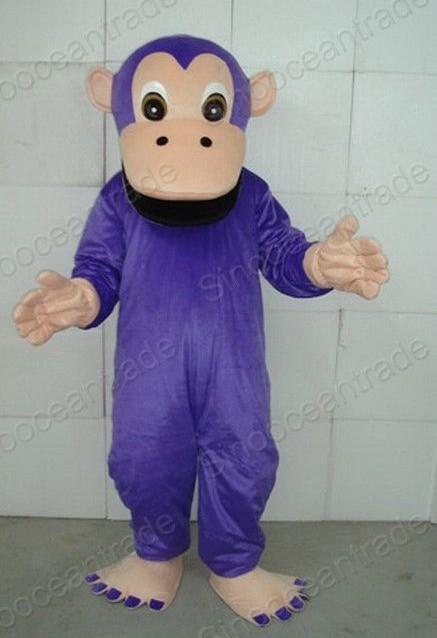 Cartoon Purple Gorilla Orangutan Gorilla Cartoon