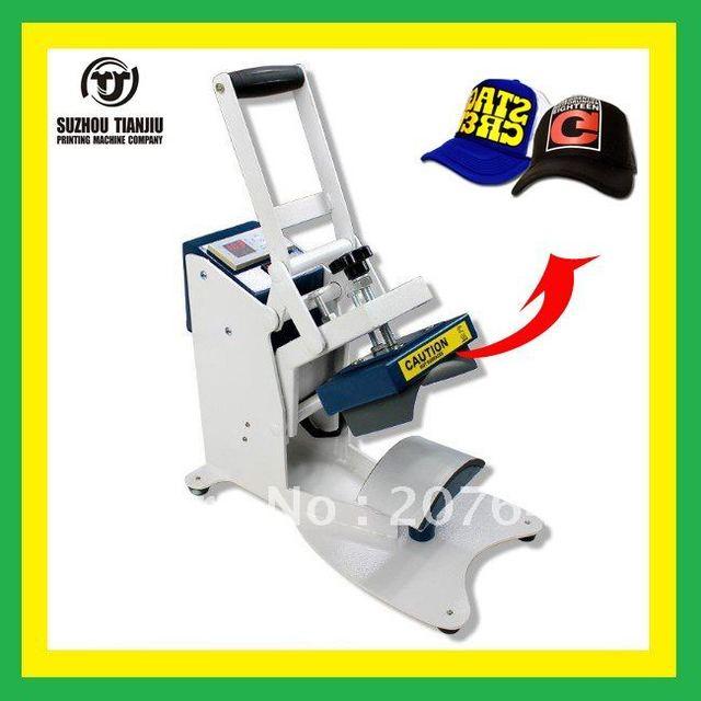 TJ  digital Cap heat press machine,cap heat transfer machine 350W 110V/220V