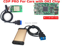 Best Quality 2014.2 TCS cdp pro with M6636B OKI  full Chip +bluetooth full function for FRD