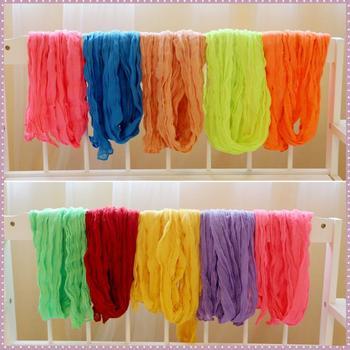 Осень и зима женщины / дети шарфы сплошной хлопок volie тёплый мягкий шелк шарф шаль ...