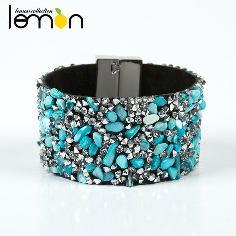 2016 New Fashion Jewelry Wrap Infinite Charm Bracelet Wristband Colorful Stone Rhinestone Bracelets & Bangles For Woman NMSF-3(China (Mainland))