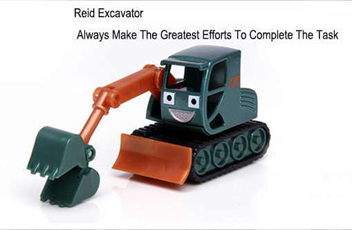 The latest alloy Bob The Builder car toy Cheap Sale, Cute Hot Sale engineering vehicles - small crawler excavators Reid(China (Mainland))