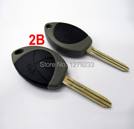 100% WORKING 2 Buttons Remote Key Shell for Malaysia Toyota(China (Mainland))