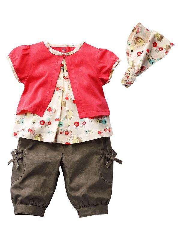 Free shipping new design t-shirt+short pants+headband 3pcs/set pink cute design girls  sets baby suit 5sets/lot<br><br>Aliexpress