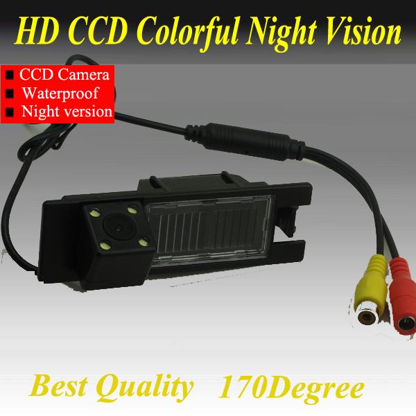 CCD Car Reverse Camera for Opel Astra J Vectra Antara Corsa Zafira Backup Rear View Parking Kit Night Vision Free Shipping(China (Mainland))