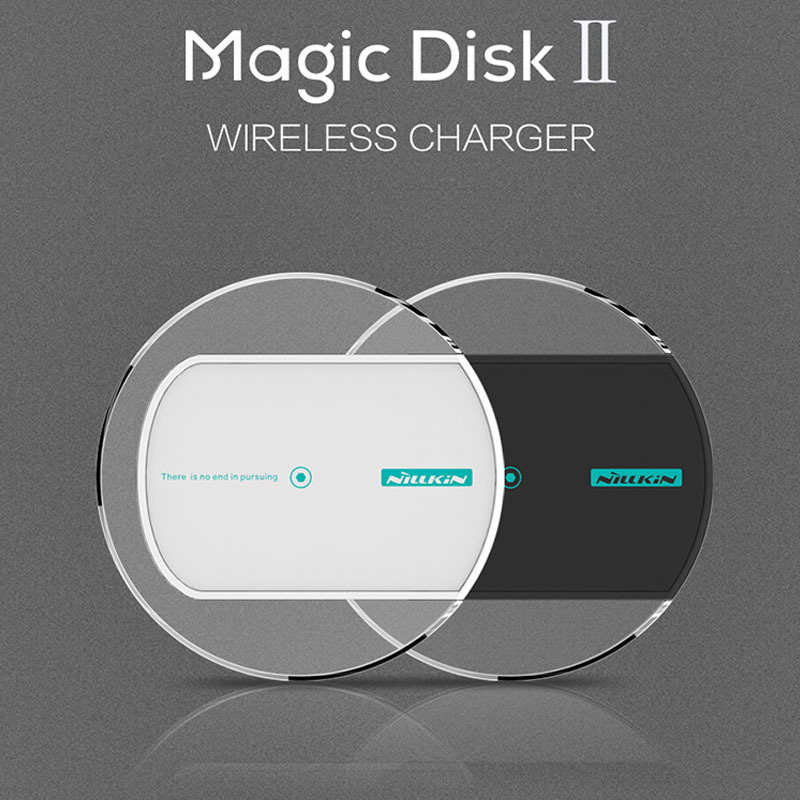 2015 Newest Nillkin Magic Disk 2 Qi Wireless Charger Charging Pad for LG Nexus 5 6 LG G3 Nokia Lumia 930 Wireless Charger Pad(China (Mainland))