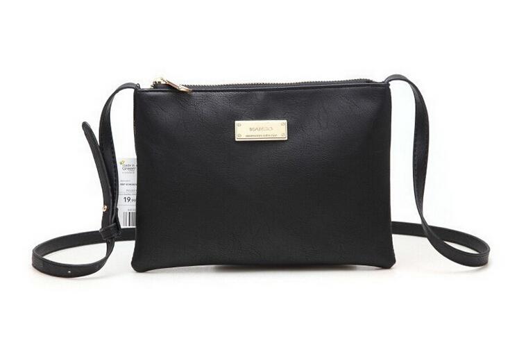 Women's Clutches New Designer Spanish Mango Brand Crossbody Bags Women Leather Handbags Shoulder Small Bag Women Messenger Bag(China (Mainland))
