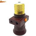 pendant bulb holder PVC e27 lamp holder lampholders AC 110V 220V LED E27 Lamp Bases switch