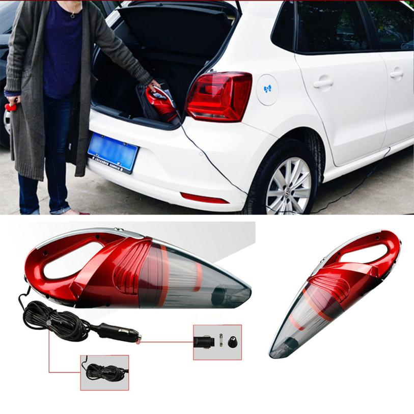 New Arrival Car Portable Super Cyclone Handheld Vacuum Cleaner for Car/Vehicle 12V 120W Red M26(China (Mainland))