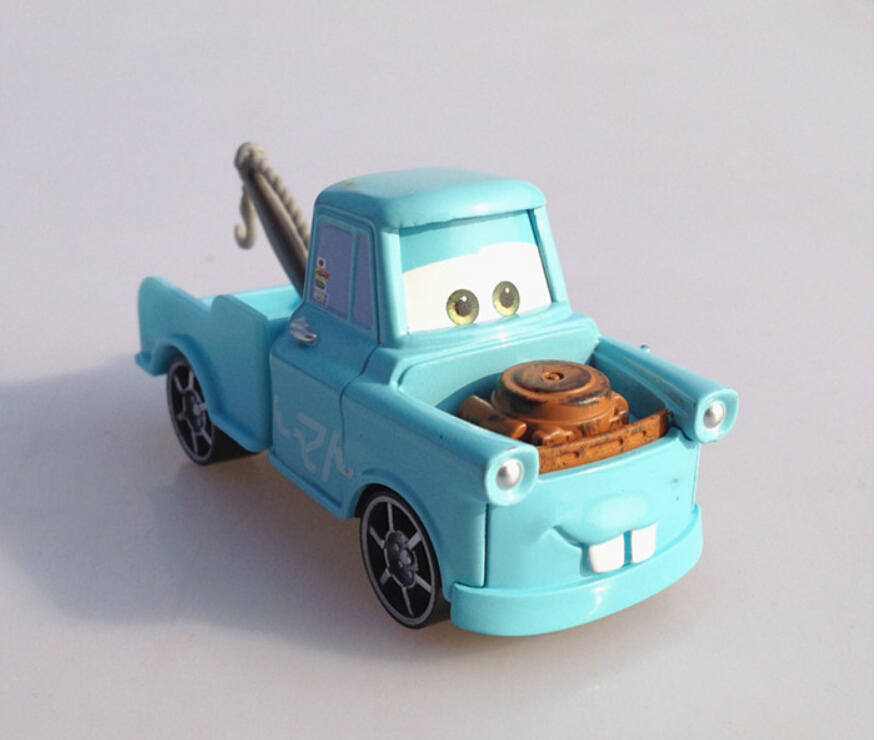 Disny Children mini miniature cars toys mater tow truck blue metal die cast race truck car models alloy diecast car toys for boy(China (Mainland))