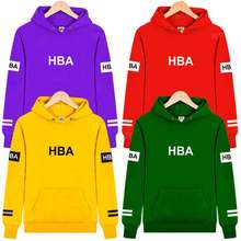 Family Matching Outfit Hood By Air HBA Spring Hoodie Kids Hip-hop Tee Men Women Father Son Boy Girl Pullover Sweatshirt Clothing