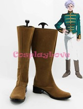 MOBILE SUIT GUNDAM Angelo Sauper Cosplay Shoes Boots Hand Made Custom-made For Halloween Christmas CosplayLove