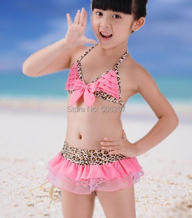 Kathy in a baby pink bikini