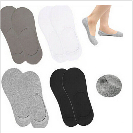 4 color Men Socks Classic Male Brief 100% BAMBOO & Cotton Invisible Man Sock Slippers Shallow Mouth no showSock(China (Mainland))