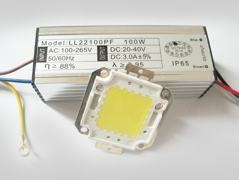 For AC85V-265V LED spotlight lamps High Power LED chip and driver SUCH AS spot light WAST LAMP 10W 20W 30W 50W 100W for choice(China (Mainland))