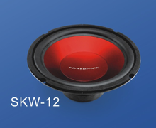 new arrival cheap price 12inch powerful car subwoofer, car trunk acoustic speakers woofers