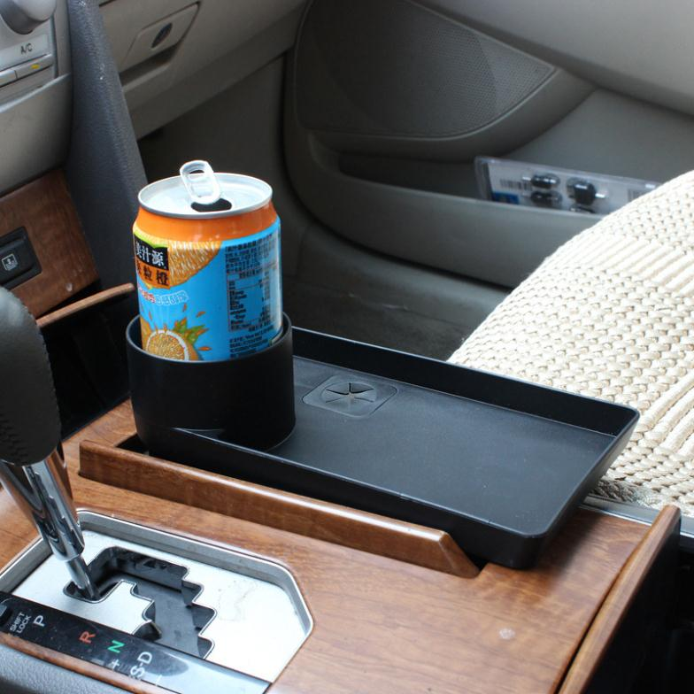 Free shipping Multi-Purpose Car Seat Tray mount Food table Stand Drink Cup Holder Drink holder tray extension SHUNWEI SD-1023(China (Mainland))
