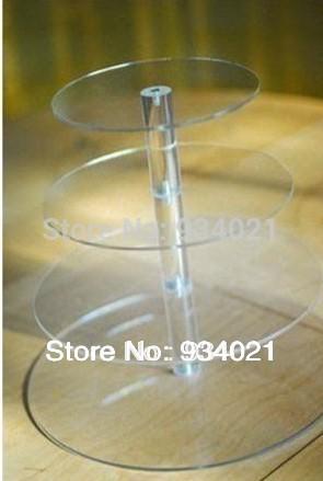 4 Tier Acrylic Cupcake And Cake Tower Display Stand Party Acrylic 4 Tier Acrylic Cupcake Stand Free Shipping(China (Mainland))