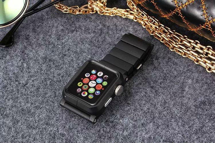 Новый Роскошный Алюминиевый Сплав Рамка + Алюминий Ремешок ремни Для Apple watch 42 мм стальной браслет iWatch 38 мм