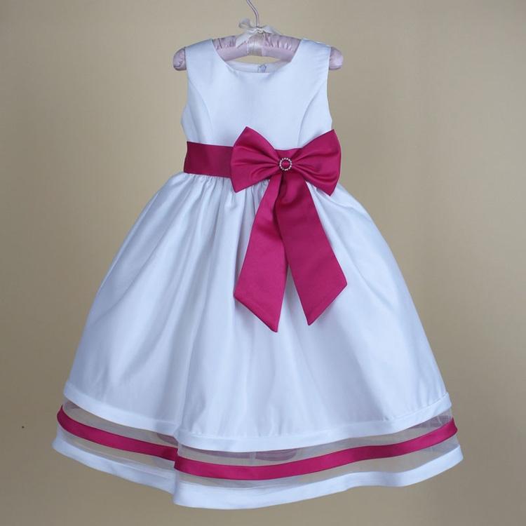 Brand New Party Girl Dress Summer Style Girl Princess Dress Elegant Girls Clothes 2015 Fashion Sleeveless Splicing Kids Clothes(China (Mainland))
