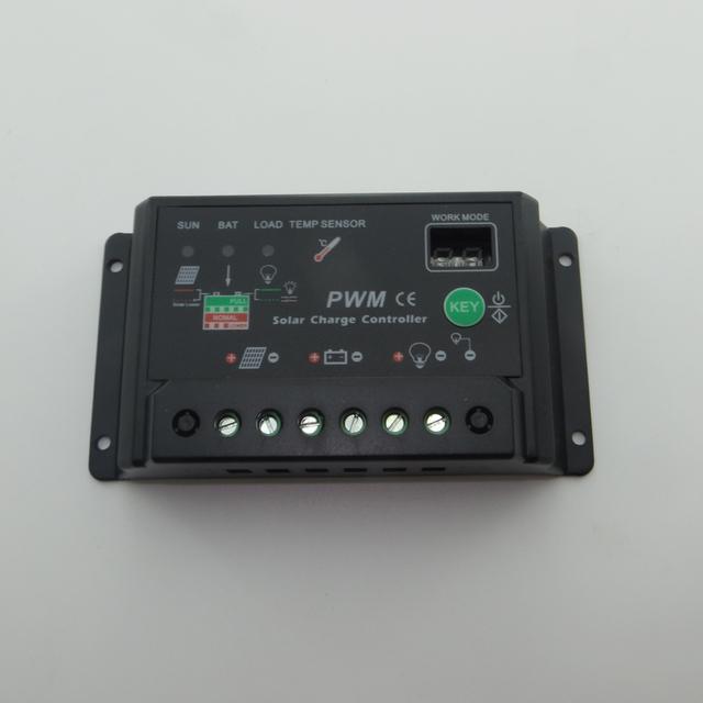 20A 12V 24V Auto intelligence Solar Cell Battery Charge Controller Regulators solar light lamps solar home system