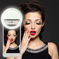 Beautify Skin LED Selfie Ring Light Night Darkness Selfie Enhancing Photography flash lamp for iPhone Samsung