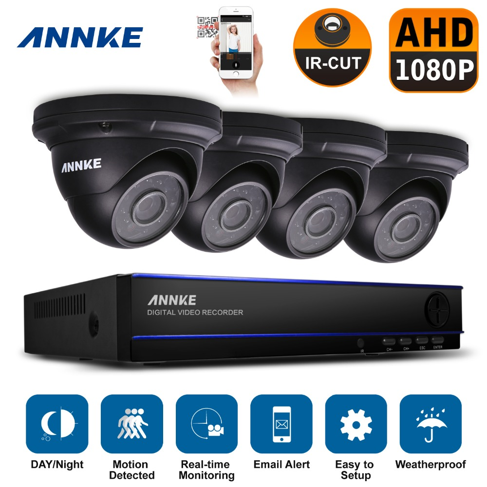 ANNKE 8CH 2.0MP 1080P HD DVR Outdoor Night Vision CCTV Security Camera System<br><br>Aliexpress