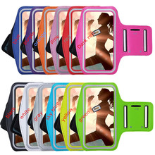 Mobile Phone Armbands Gym Running Sport Arm Band Cover For Samsung Galaxy Grand Prime G530 Bags Adjustable Armband protect pouch