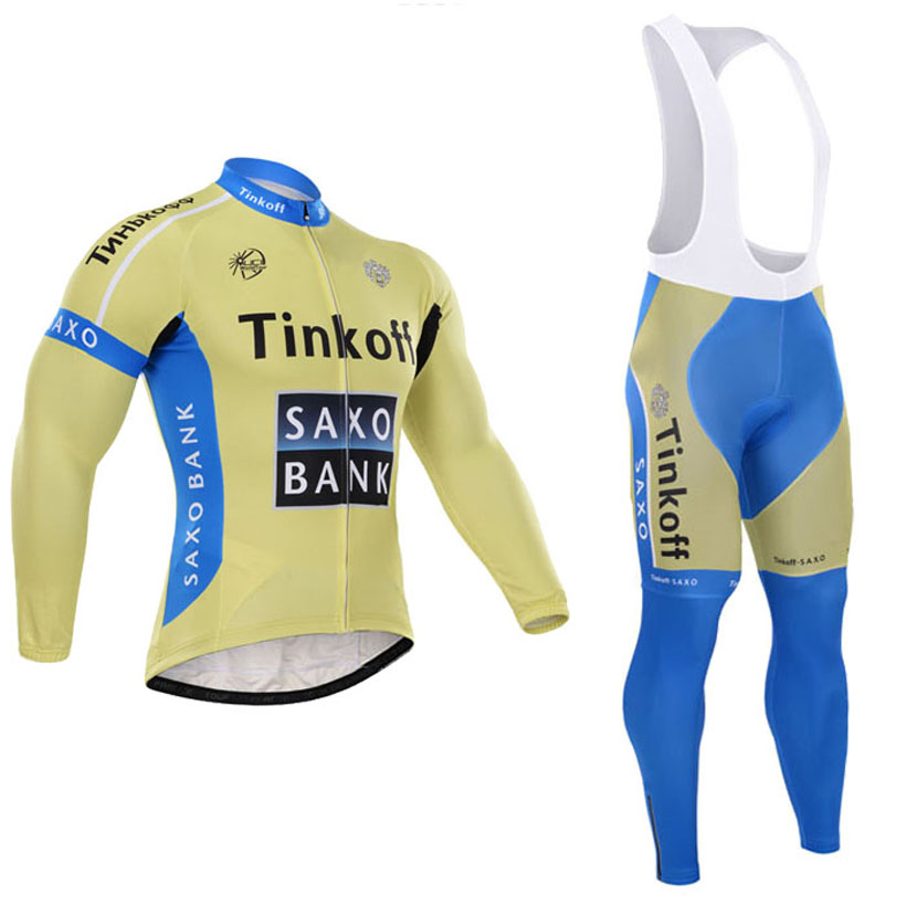 Здесь можно купить  SAXO BANK  Winter Thermal Fleece Super Warm Ropa Ciclismo Invierno Cycling jersey Mountain Bicycle Clothing GEL Pad  Спорт и развлечения