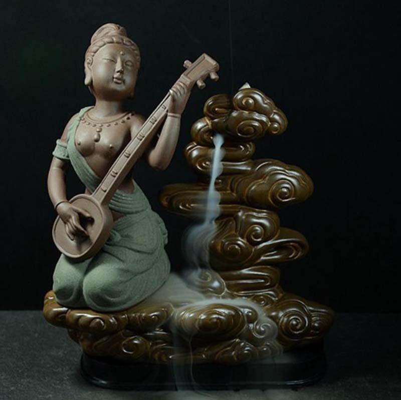 Ceramic arts and crafts new color ceramic incense burner manual classical beauty furnishing articles(China (Mainland))
