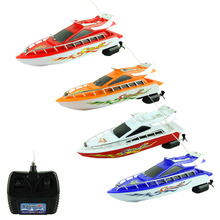 Attractive New 2014 Fashion Powerful Plastic Remote Control Boats Speed Electric Toys Model Ship Sailing Children Game Kids Ship(China (Mainland))