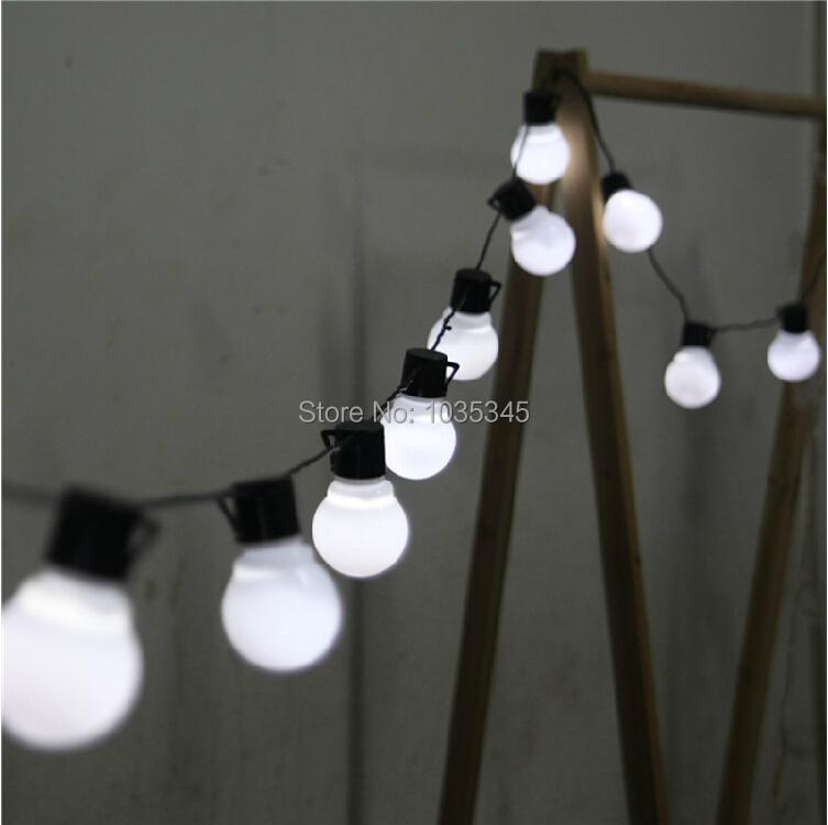 Novelty String Lights Indoor : Novelty 5CM big size 38 ball 10M LED String Black wire LED Starry Lights Christmas Wedding ...