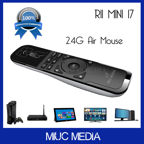2.4G Wireless Mini Gaming Keyboard Rii i7 (X3) Mini air fly mouse for Android Tv Box X360 PS3 Smart TV PC Motion sensing Game(China (Mainland))