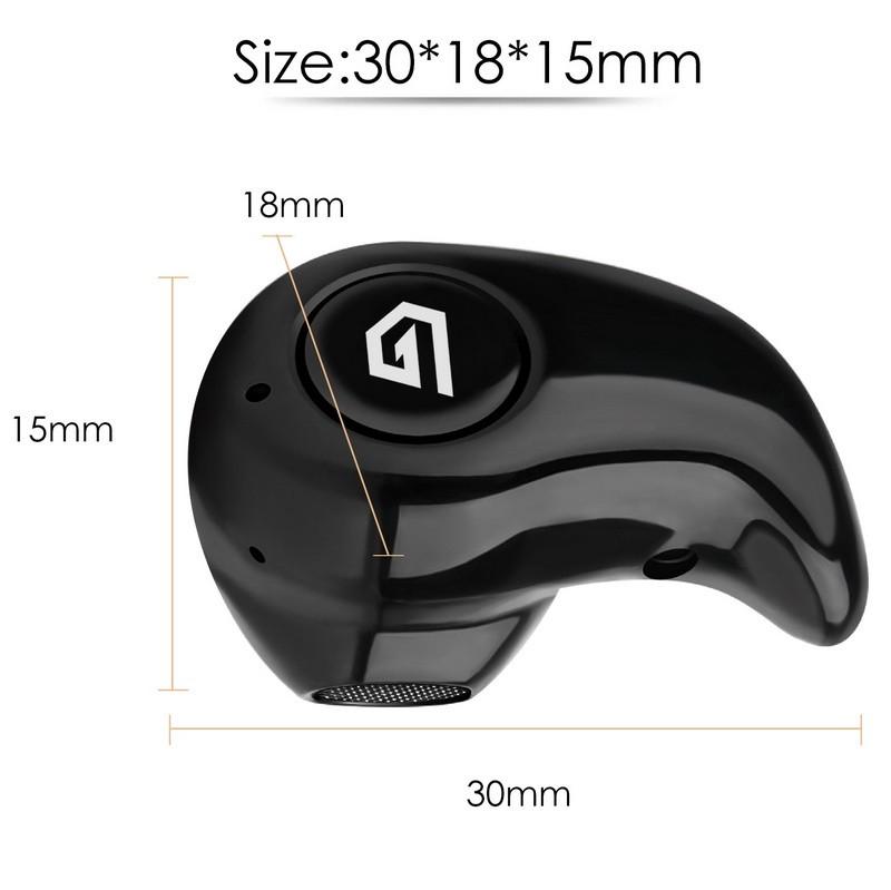 GETIHU Mini S530 Bluetooth V4.0 Headphone Earphone Wireless Handfree Sport Headset for iPhone 6 7 Plus Mobile Phone With Mic