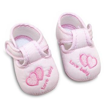 3 Colors Lovely Baby Toddler Cotton Soft Sole Skid-proof First Walkers Kids infant Shoes