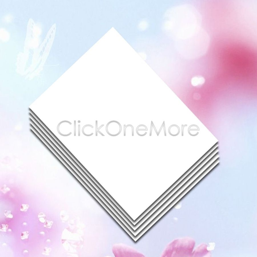 20 X T Shirt Transfer Paper Iron-On For Dark Fabrics A4 640212B(China (Mainland))