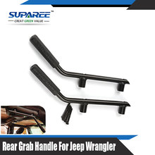 1 Set Rear Solid Steel Back Wild Boar Grab Handles Armrests for Jeep Wrangler CJ YJ TJ JK 07-15(China (Mainland))
