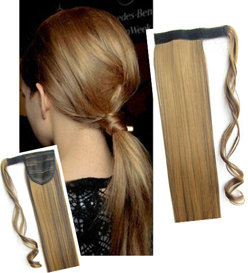 Ponytail extension 22/55 90g #4/27 BIP-666