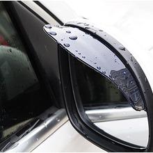 Car Rear View Mirror Weatherstrip Flexible Rear View Mirror Anti Rain Guard Shade Auto Mirror Weatherstrip CIASS-LYL001(China (Mainland))