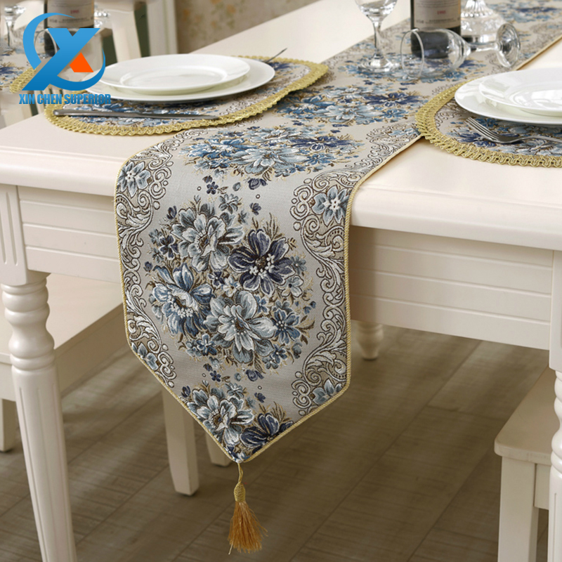 28x210cm Cotton Flowers Plants Embroidered Elegant Table Runner Cloth Wedding Table Runner Home Party Decoration Fast Shipping(China (Mainland))