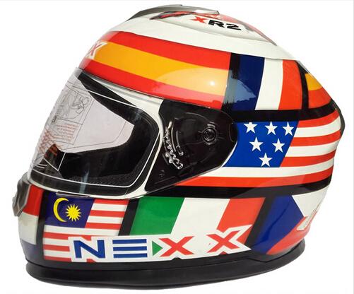 (1pc) USA Version NEXX Motorcycle Full Face Helmet,Racing helmet Protective Gear,Capacetes Casco NE901(China (Mainland))
