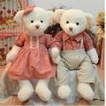 2 pcs set 65 cm couple teddy bear soft plush stuffed toy birthday gift